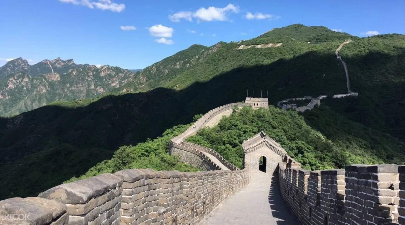 mutianyu great wall view